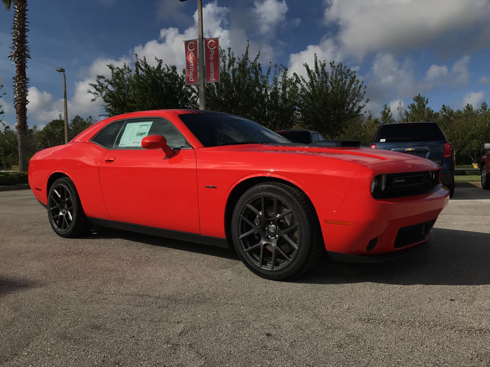 New 2018 Dodge Challenger R T Plus Shaker Coupe In Daytona