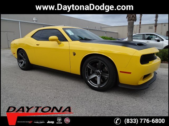 New 2019 Dodge Challenger Srt Hellcat Coupe In Daytona Beach D19067