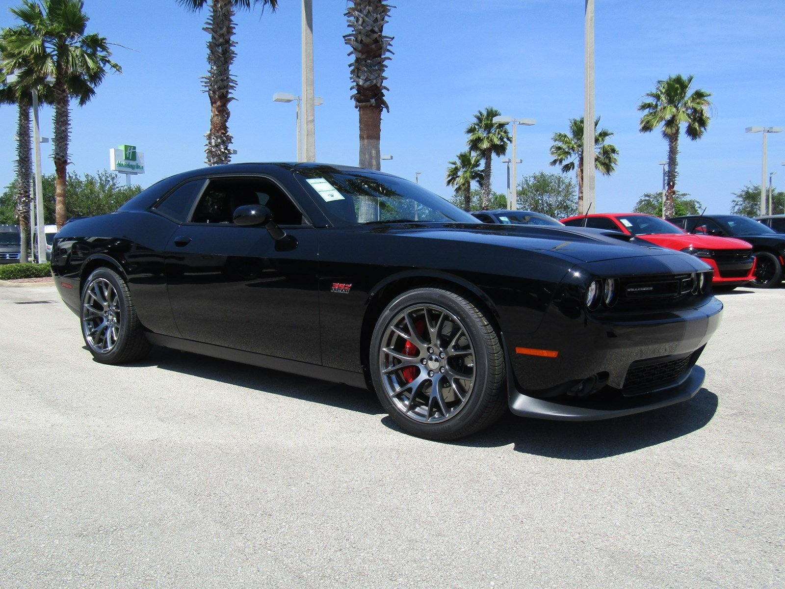 Daytona Charger 2017 Black >> New 2017 Dodge Challenger SRT 392 Coupe in Daytona Beach # ...