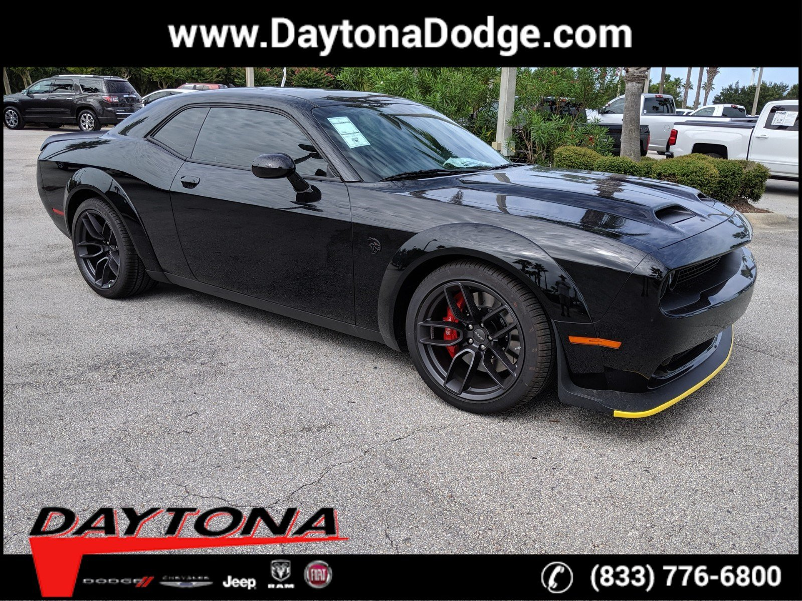 New 2019 DODGE Challenger SRT Hellcat Redeye Widebody
