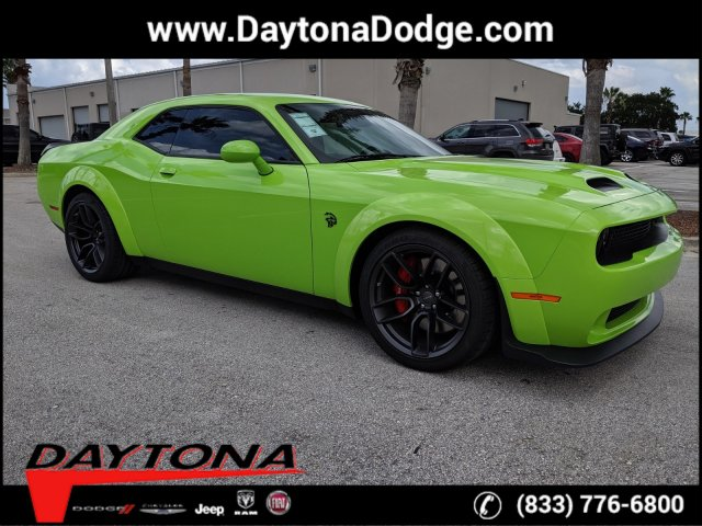 New 2019 DODGE Challenger SRT Hellcat Redeye Widebody Coupe in