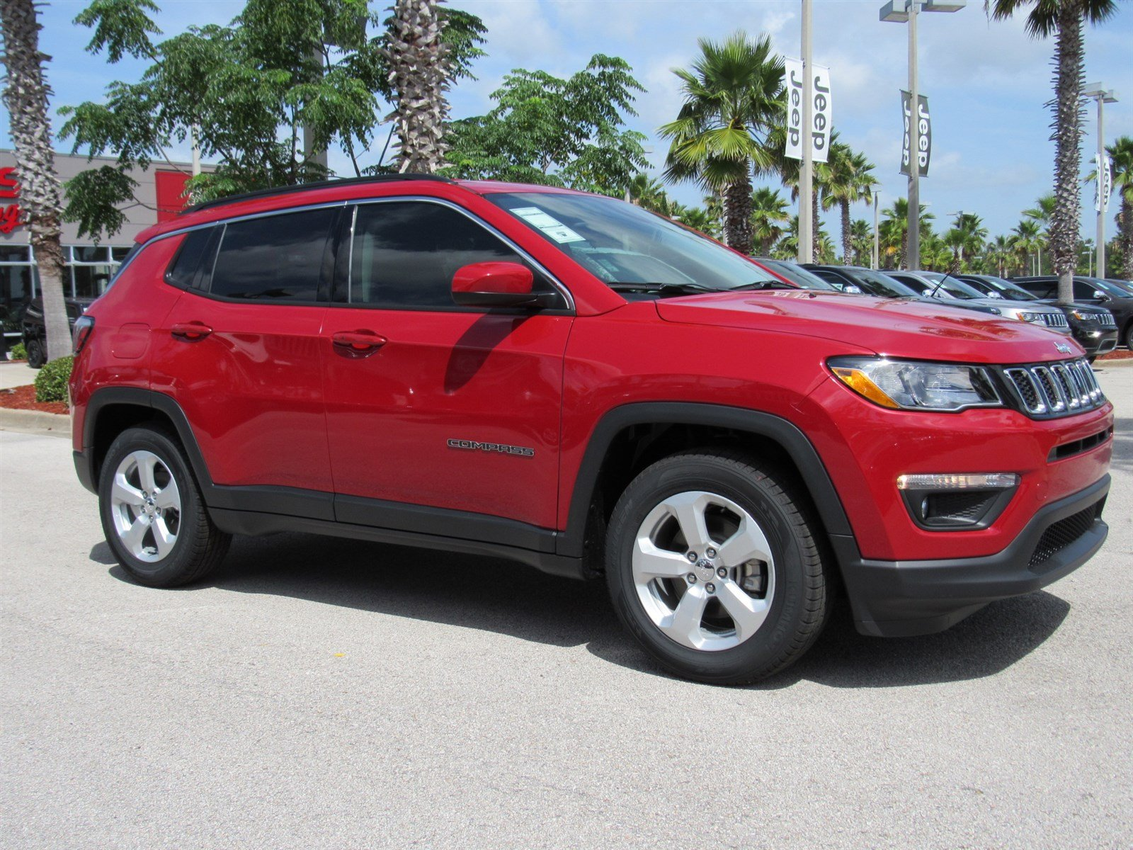 new 2017 jeep compass latitude sport utility in daytona beach j17574 daytona dodge chrysler. Black Bedroom Furniture Sets. Home Design Ideas