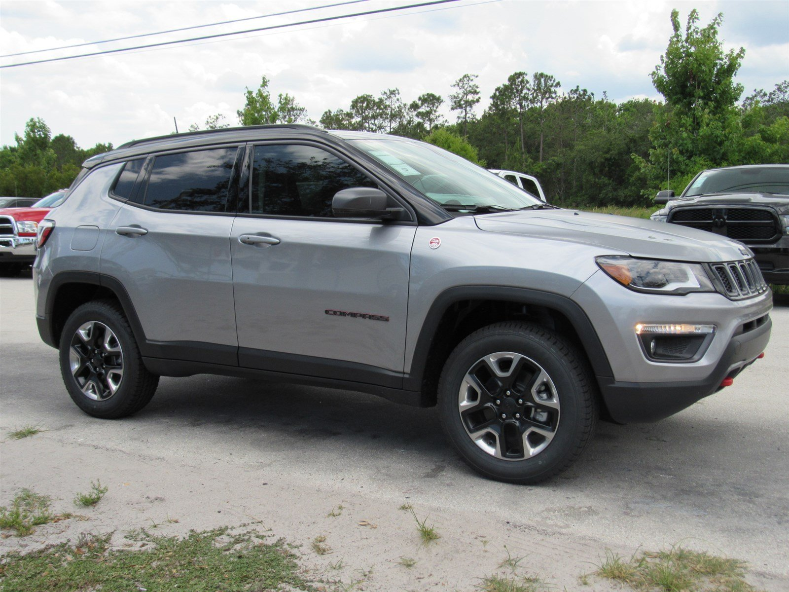 new 2017 jeep compass trailhawk sport utility in daytona beach j17566 daytona dodge chrysler. Black Bedroom Furniture Sets. Home Design Ideas