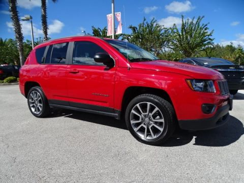 Certified Pre-Owned 2017 Jeep Compass Sport SE