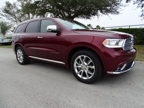 NEW 2018 DODGE DURANGO CITADEL RWD