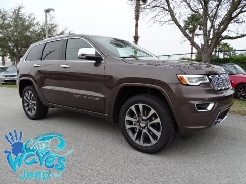 NEW 2018 JEEP GRAND CHEROKEE OVERLAND 4X2