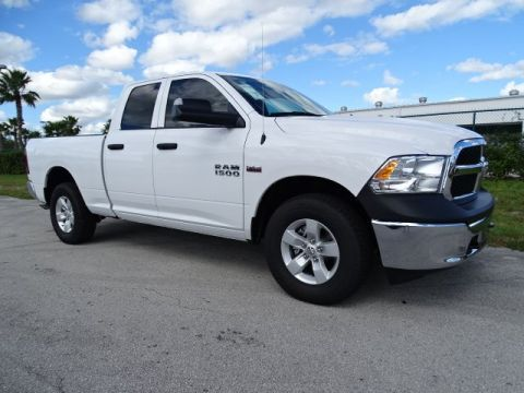 NEW 2018 RAM 1500 TRADESMAN QUAD CAB 4X4 6'4 BOX