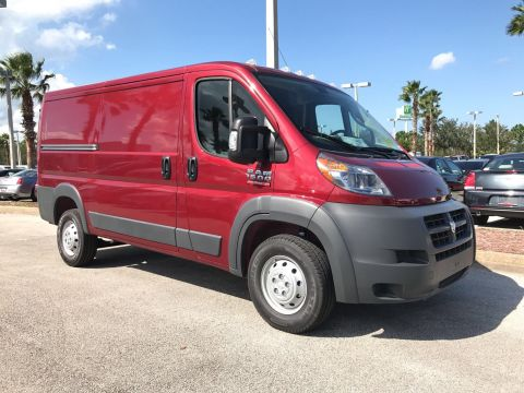 NEW 2017 RAM PROMASTER 1500 CARGO VAN LOW ROOF 136 WB